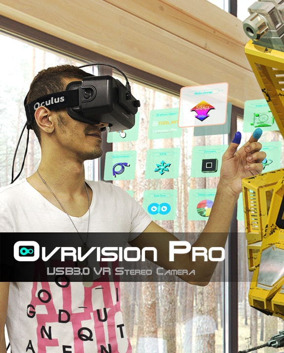 Ovrvision Pro | USB Open-Source Stereo Camera for AR/VR and Robot